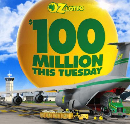 Призы Oz Lotto